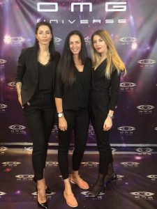 Oksana Martynenko, Danielle Scott, Dora Hollos DEC 2018
